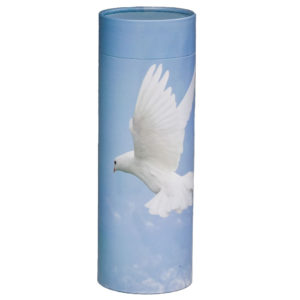 Scattering Tube Eco-Friendly Urn - 200 cu. in.